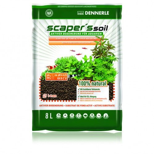 Dennerle Scapers Soil 1 4mm 8l Black