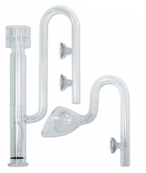 The Aquascaper Glass Pipework Set 16mm by EA